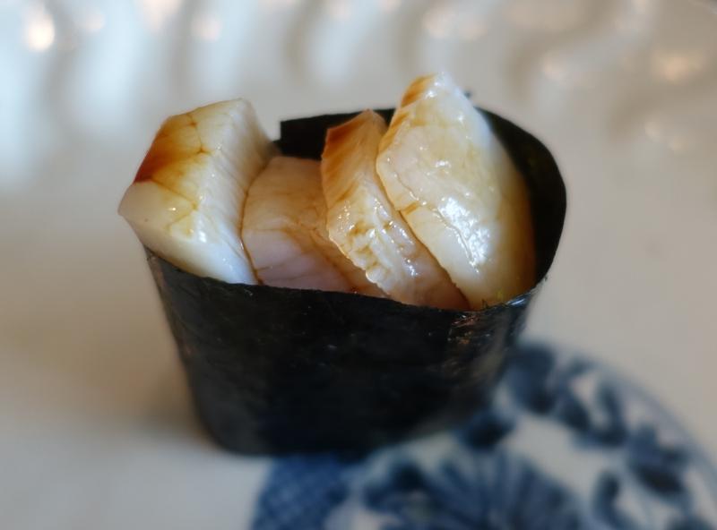 Scallop Sushi, Sushi Sora Review
