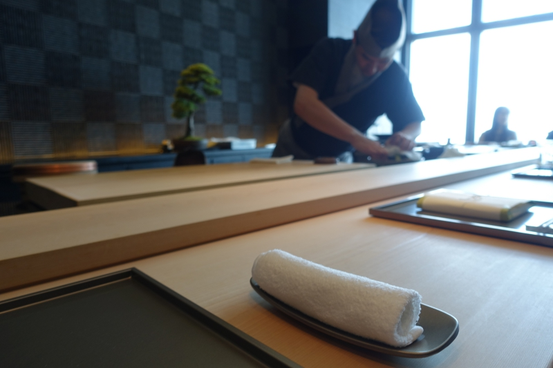 Oshibori and Sushi Bar, Sushi Sora Review