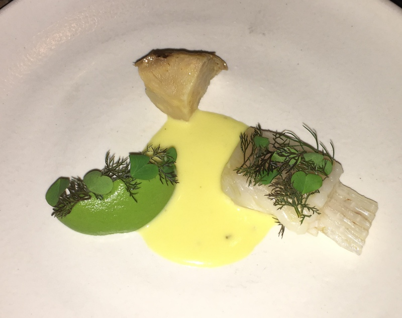 Skate Wing, Aska NYC Restaurant Review, 2 Michelin Stars