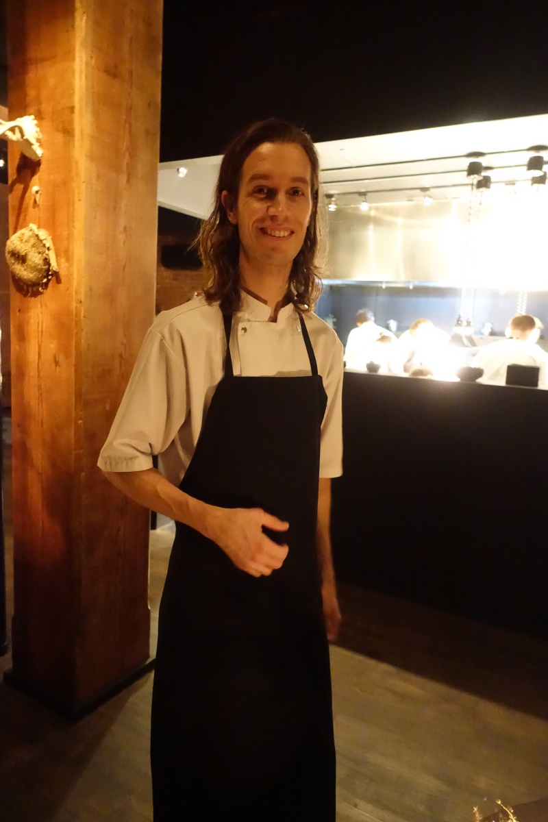 Chef Fredrik Berselius Helms Aska, in Williamsburg, Brooklyn