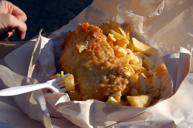 Fish and chips, Dublin