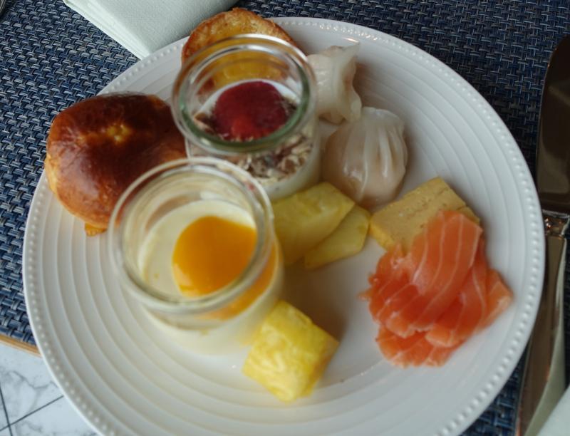 Breakfast at K'shiki, Mandarin Oriental Tokyo
