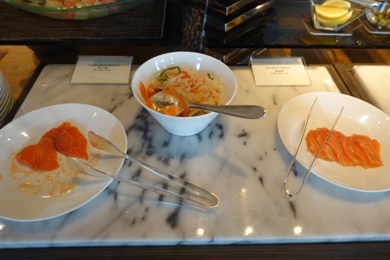 Smoked Salmon, Mandarin Oriental Tokyo Breakfast Revieww
