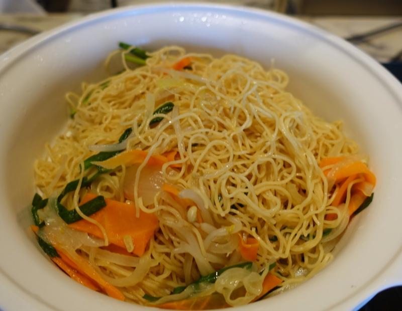 Noodles, Mandarin Oriental Tokyo Breakfast Review
