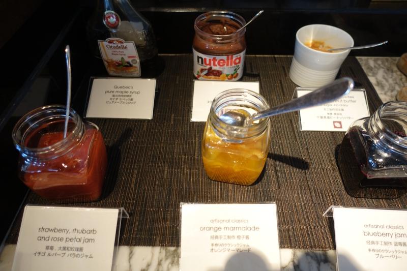 Housemade Jams, Mandarin Oriental Tokyo Breakfast Buffet