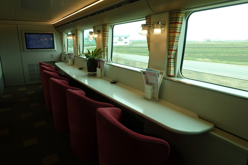 Lower Floor of Cafe Car, Shimakaze Train