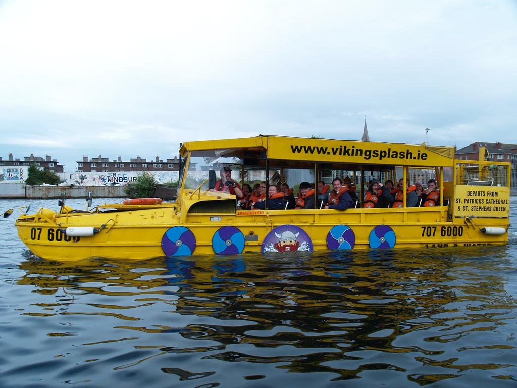 Viking Splash Tours, Dublin
