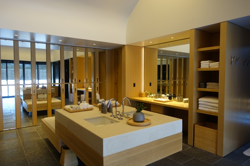 Amanemu Spa Women's Changing Room