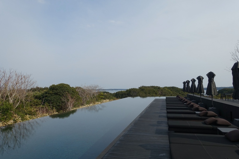 Amanemu Main Swimming Pool, Near Reception