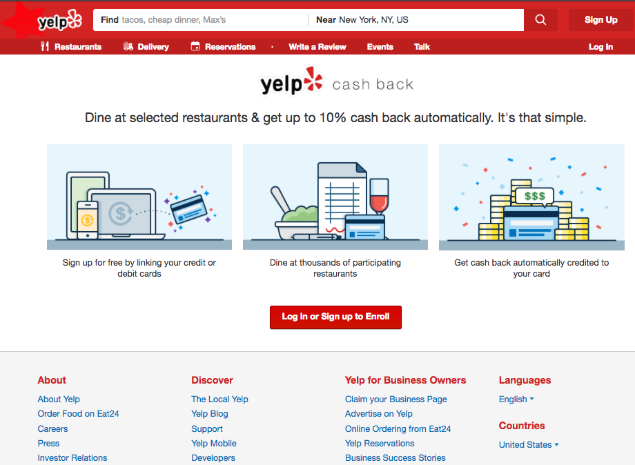 Triple Dipping at Restaurants with Shopping Portals and Yelp Cash Back