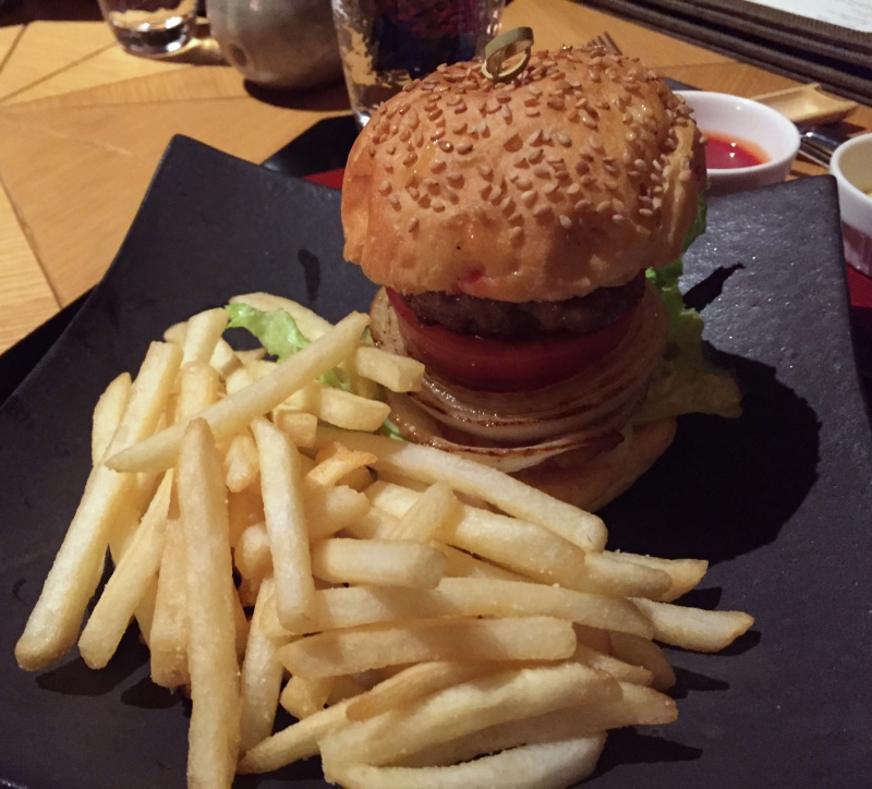 Burger and Fries, Amanemu