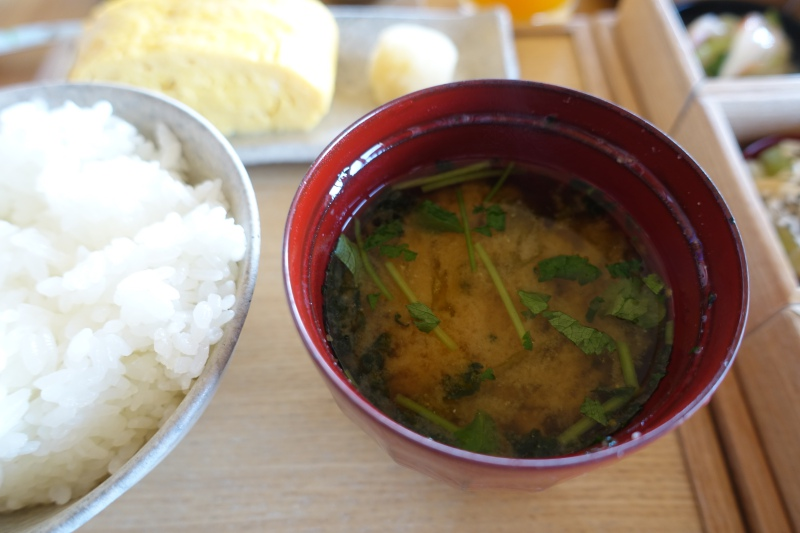 Amanemu Japanese Breakfast: Miso Soup