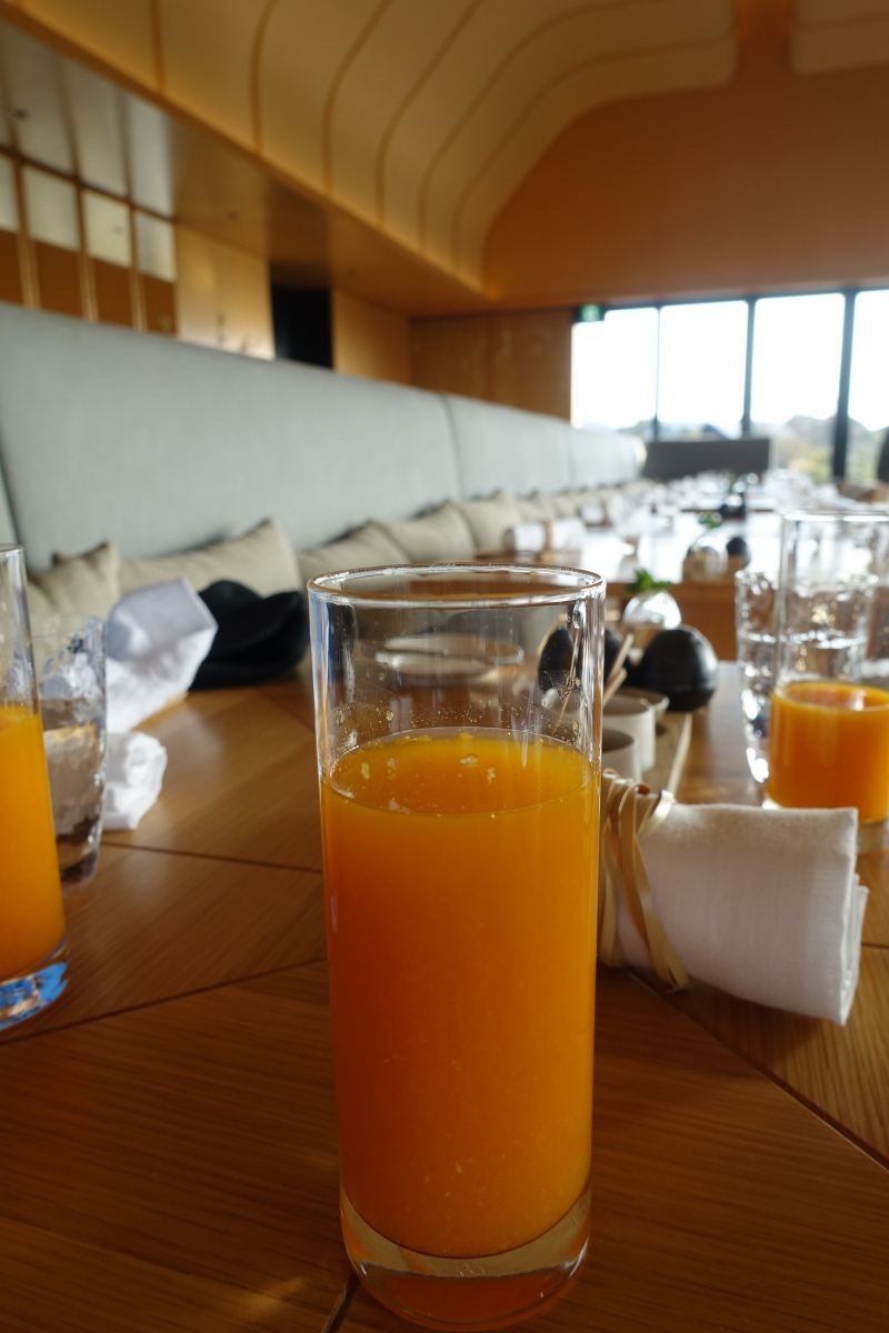 Fresh Squeezed Juice, Amanemu Breakfast Review