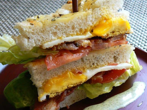 Breakfast BLT, Inn on First, Napa