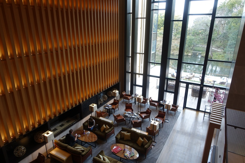 Four Seasons Kyoto Lobby Lounge Seating