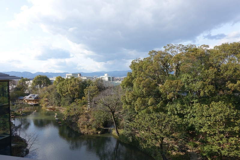 View from Four Seasons Room, Four Seasons Kyoto Review
