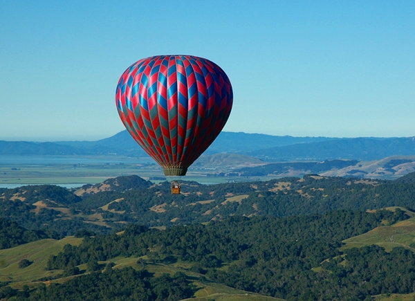 Hot Air Balloon Ride, Napa Valley