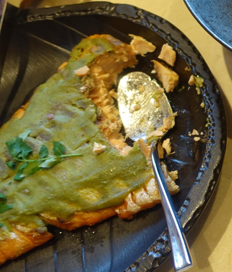 Poached Salmon, Four Seasons Kyoto Breakfast Buffet