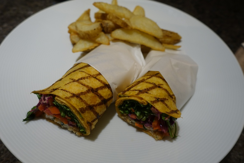 Soft-shell Crab Wrap, Four Seasons Kyoto Room Service Review
