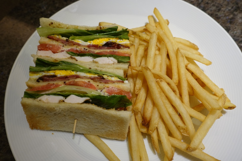 Club Sandwich, Four Seasons Kyoto Room Service Review