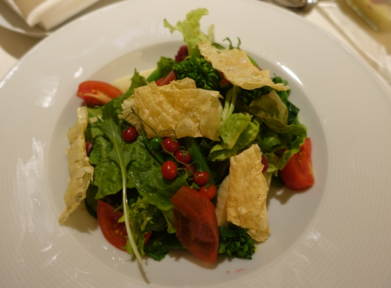 Salad, Four Seasons Kyoto Room Service Review