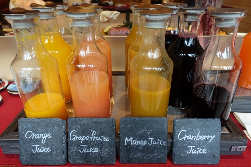 Juices, Four Seasons Kyoto Breakfast Buffet