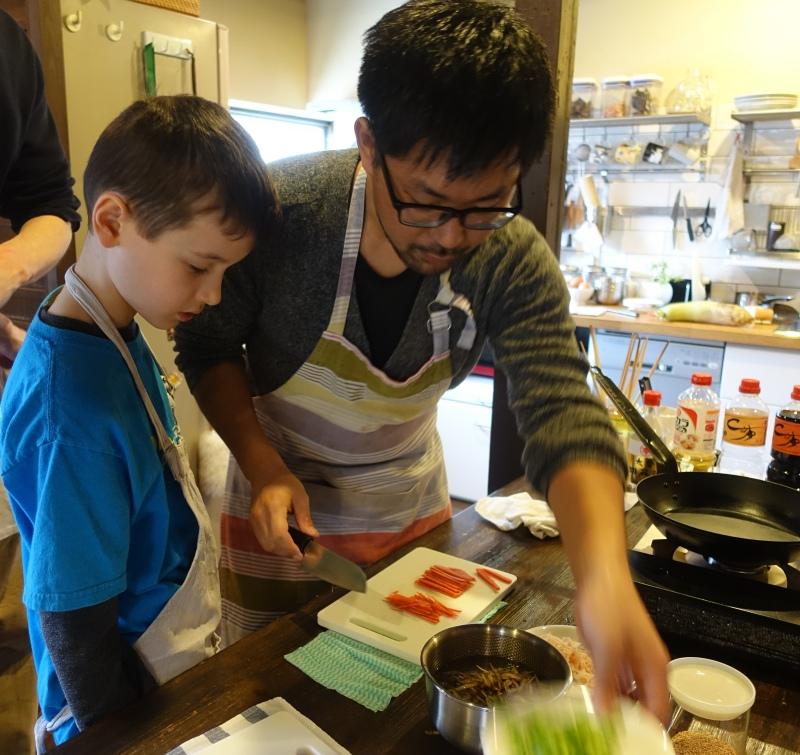Cooking Class with Taro Saeki, Haru Cooking Class, Kyoto