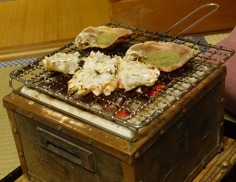 Grilled Matsuba Crab