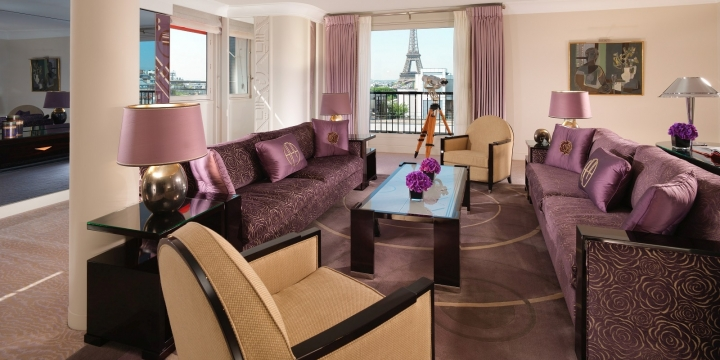 Hotel Plaza Athenee: Eiffel Suite