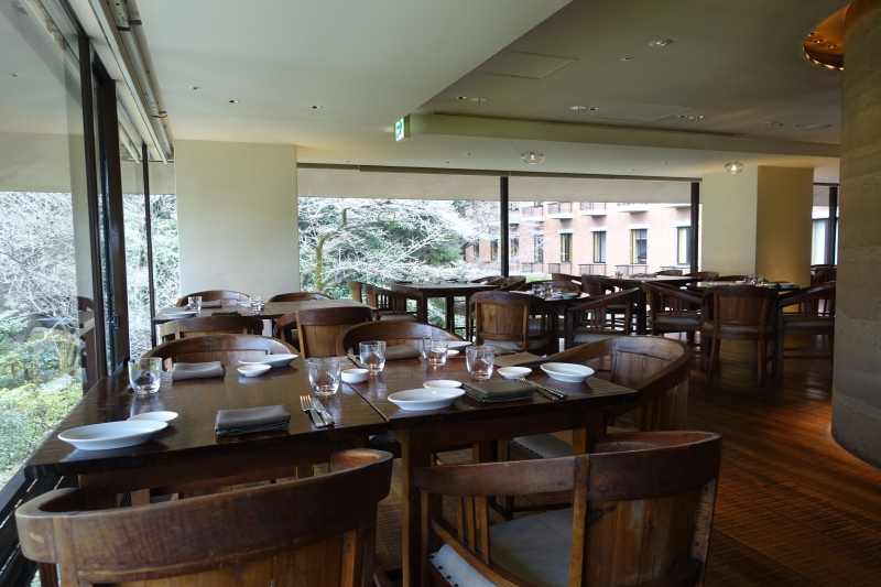 Trattoria Sette Seating, Hyatt Regency Kyoto