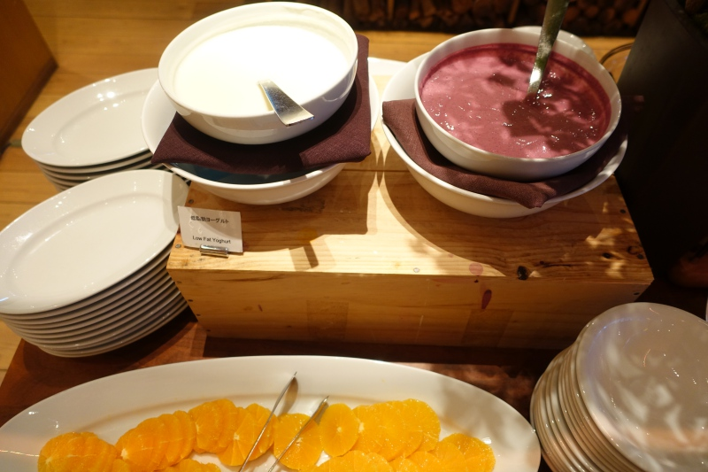 Yogurt and Oranges, Hyatt Regency Kyoto Breakfast Review