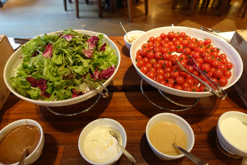 Salad, Hyatt Regency Kyoto Breakfast Review