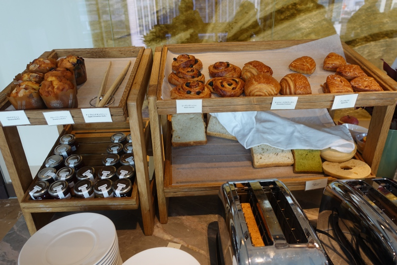 Breakfast Pastries, Four Seasons Tokyo Review