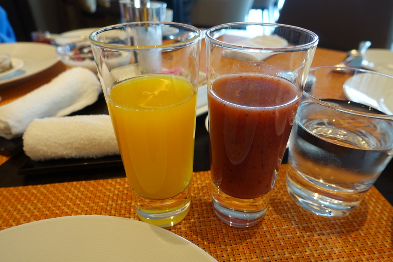Fresh Juices, Four Seasons Tokyo