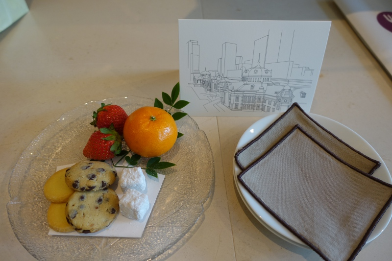 Welcome Amenity, Four Seasons Tokyo Review