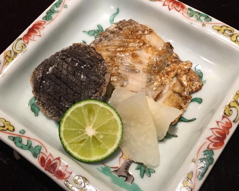 Beltfish and Shiitake Mushroom, Kikuchi Tokyo Review