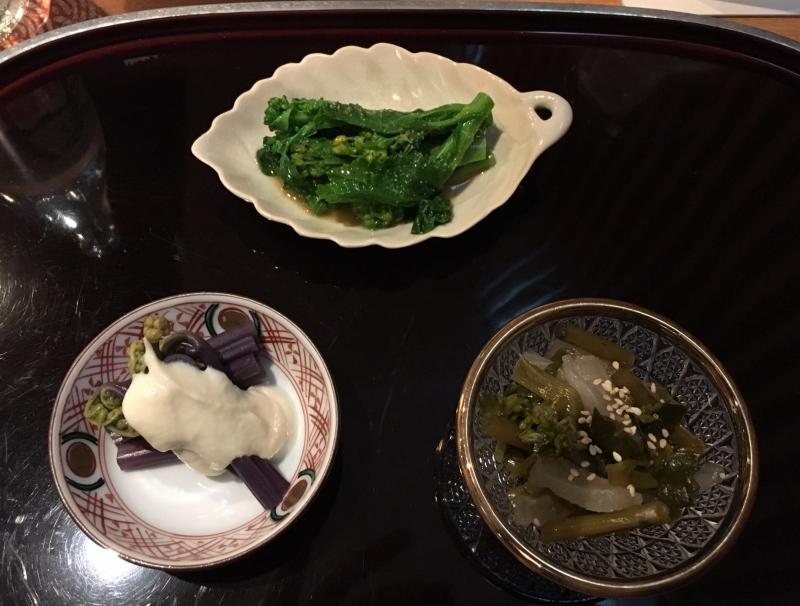 Appetizers, Kikuchi Tokyo Review