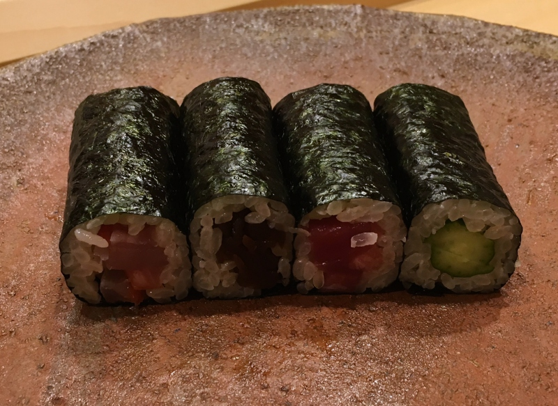 Hand Rolls, Sushi Iwa Review