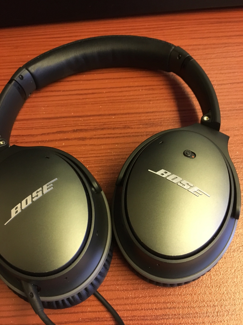 Bose Headset, JAL First Class Review