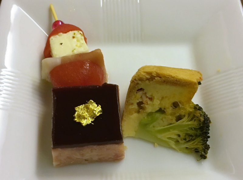 Amuse Bouche, JAL First Class Review
