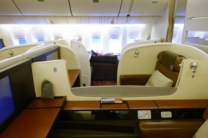 Japan Airlines First Class Review, 777-300ER