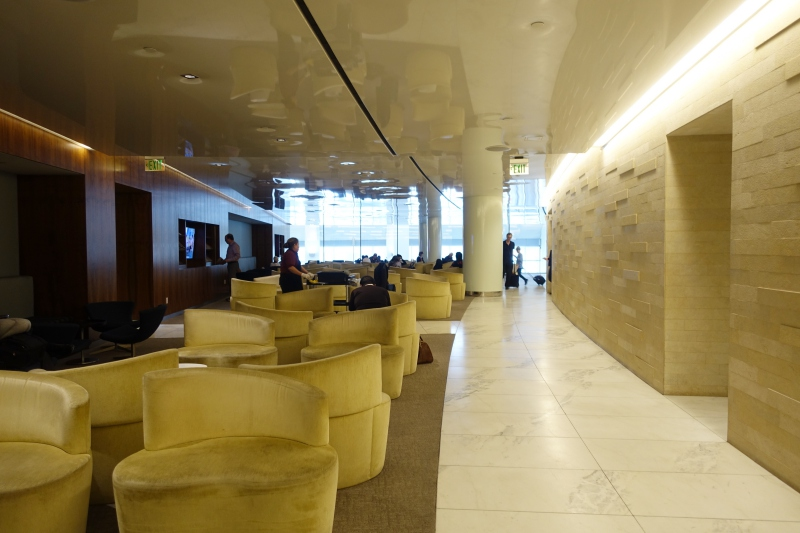 Seating, Korean Air Lounge LAX Review