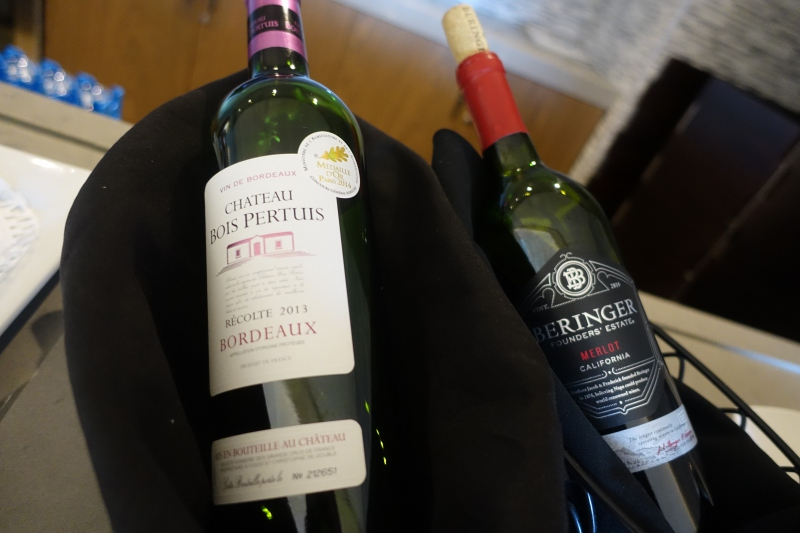 Red Wines, Korean Air Lounge LAX Review