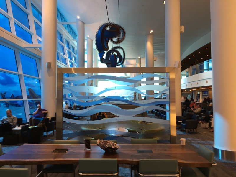 Delta Sky Club Seattle Review