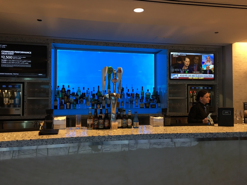 Delta Sky Club Seattle Bar