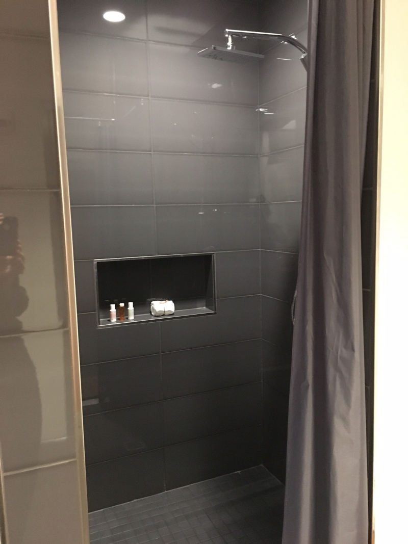 Rain Shower, Delta Sky Club Seattle Review