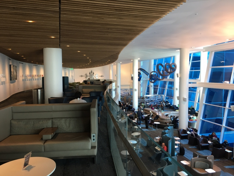 Delta Sky Club Seattle Lounge Review
