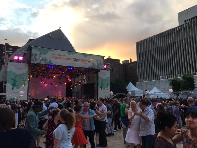 Lincoln Center Midsummer Night Swing 2017
