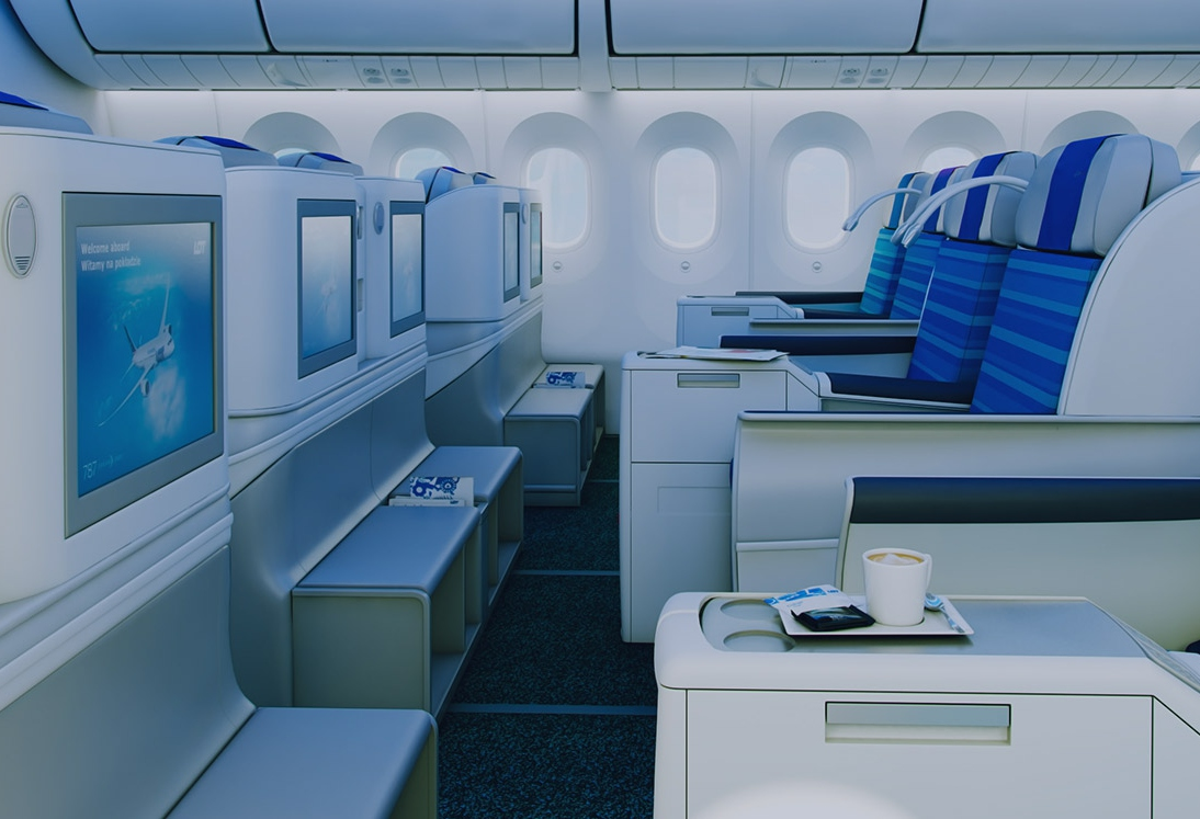 LOT Polish Airlines Business Class Seat