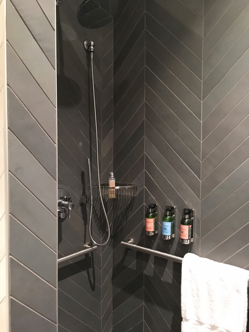Shower Room, AMEX Centurion Lounge Seattle Review